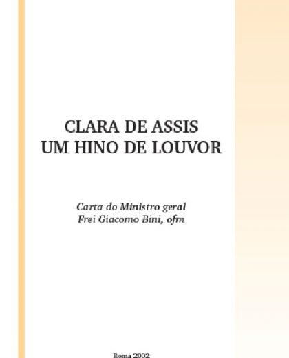 Clara de Assis, um hino de louvor