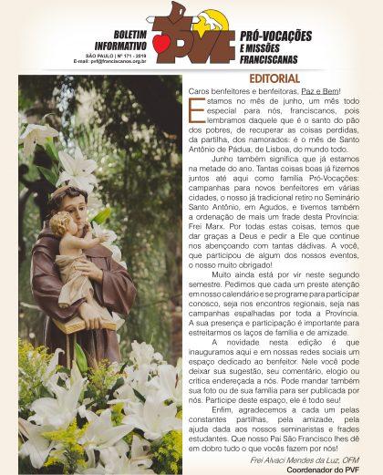 Boletim PVF - Edição 171