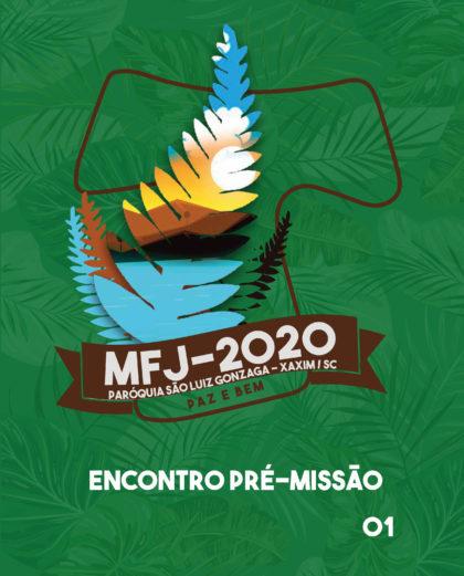 Subsídio Pré-Missão 01 - 2020