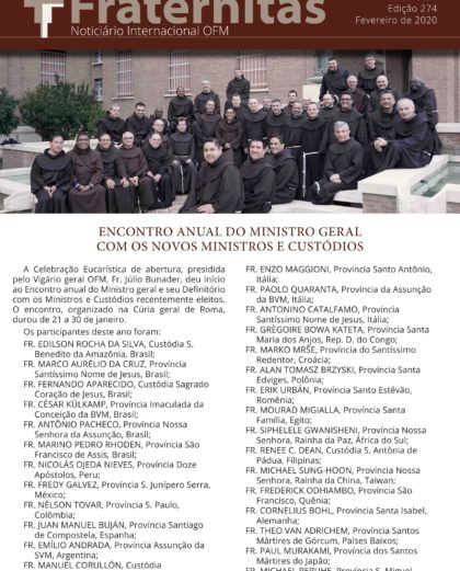 Fraternitas - Fevereiro de 2020