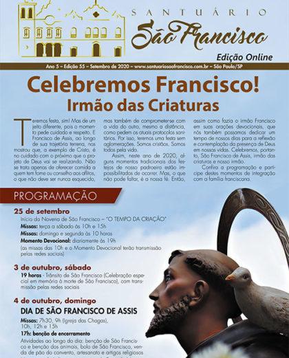 Boletim Santuário São Francisco   Setembro 2020