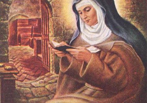 Santa Coleta de Corbie: em retiro e em relação