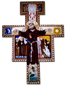 Itinerário para a contemplação orante do crucifixo de São Damião