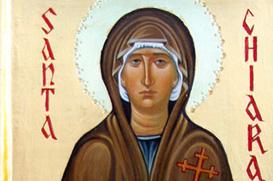 Clara fez no terreno da Igreja o jardim da humildade