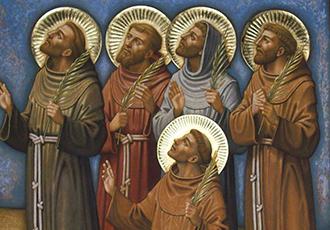 800 anos dos Protomártires Franciscanos