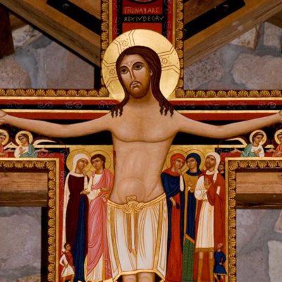 Francisco diante do Cristo de São Damião