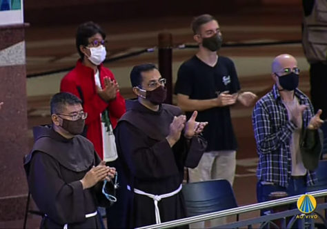 Postulantes vão a Aparecida pedir pelo fim da pandemia
