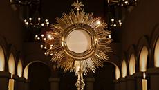 O Santíssimo Corpo e Sangue de Cristo sustenta a igreja.