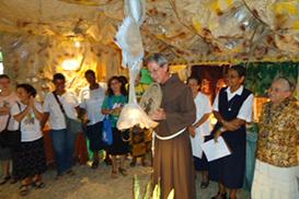 Franciscanos de Palanca montam a 3ª Exposição de Presépios