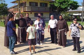 Semana missionária para ordenação de Frei Laurindo