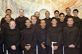 Provincial recebe os noviços de 2012