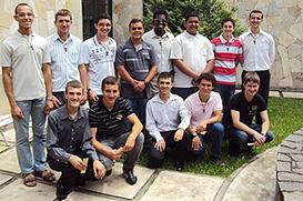 Em Guaratinguetá, 13 jovens ingressam no Postulantado