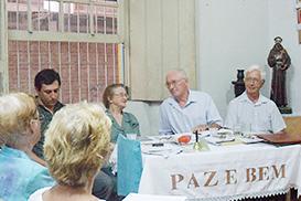 Dia de visitas na Fraternidade das Chagas de Florianópolis