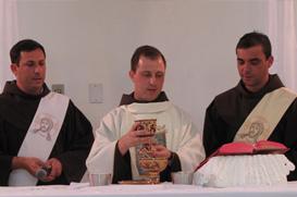 Frei Diego inicia seu ministério presbiteral