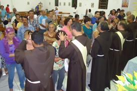 Tríduo preparatório para ordenação presbiteral de Frei Diego