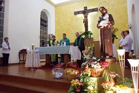 Missa campal e procissão encerram festividades em Florianópolis