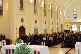 Missa de Ação de Graças marca o aniversário da Província