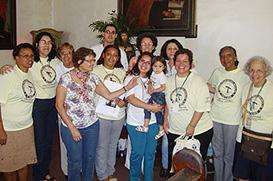 Dia de Festa no Largo da Carioca com a chegada de oito irmãos