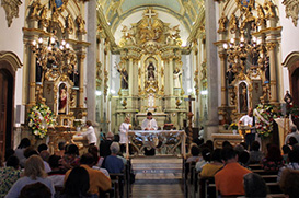 Padroeiro é celebrado 370 anos no Largo São Francisco
