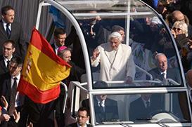 Papa Bento XVI começa as suas despedidas