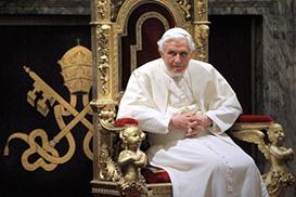 Bento XVI promete obediência ao novo papa