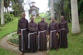 Noviços angolanos fazem a Primeira Profissão