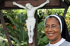 """Ir. Vicentina Monteiro: """"Convento das Graças, uma dádiva de Deus"""""""