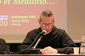 """Vigário Geral fala dos """"novos franciscanos e nova evangelização"""""""