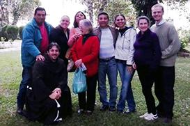 Retiro dos aspirantes à Ordem  Franciscana Secular de Florianópolis