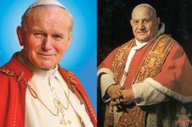 João XXIII e João Paulo II serão santos em 27 de abril de 2014