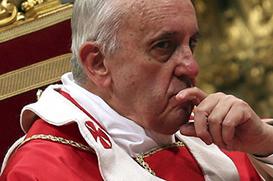 """Papa Francisco: """"Com licença, desculpa, obrigado!"""""""