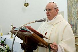 """""""A corte é a lepra do Papado"""", dispara o Papa"""