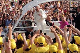 Papa exorta fiéis a negarem qualquer forma de corrupção e ilegalidade