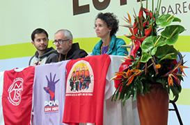Frei Rodrigo Péret e ativistas foram libertados