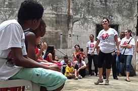 São Paulo: Uma Igreja pintada na fachada e no coração
