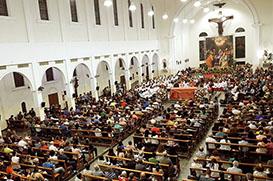 Santuário celebra seu padroeiro: Divino Espírito Santo