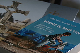 Frade de Aleppo lança livro sobre recomeço na cidade