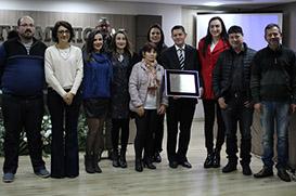 Fundação Frei Rogério homenageada em Curitibanos