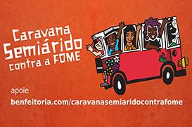 Caravana alerta para risco do país retornar ao Mapa da Fome