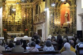 Encontro franciscano no Convento Santo Antônio
