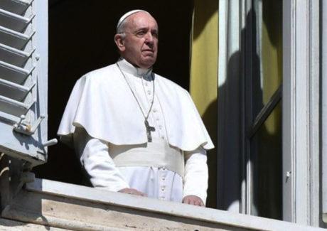 Papa recebe apoio de todo o mundo