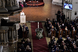 """Com os luteranos:  """"A nossa fé não é para ficar oculta"""""""