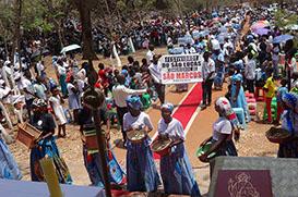 Festa de São Lucas no Kimbo São Francisco, em Luanda