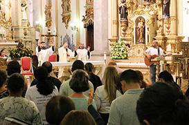 Leigos franciscanos encerram novena de São Francisco