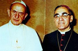 Paulo VI e Oscar Romero: santos da Igreja