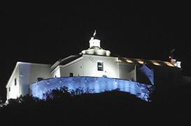 Inaugurada a nova iluminação do Convento da Penha