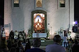Paróquia do Rosário celebra sua Padroeira