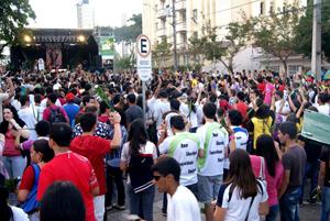 PJF participa da jornada diocesana da juventude 2012