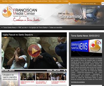 Novo site do Franciscan Media Center