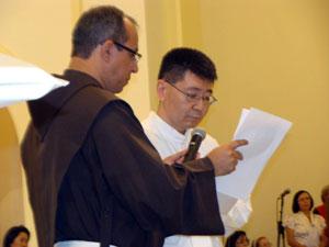 Igreja da Vila Clementino lota para a ordenação diaconal de Frei Roberto Ishara